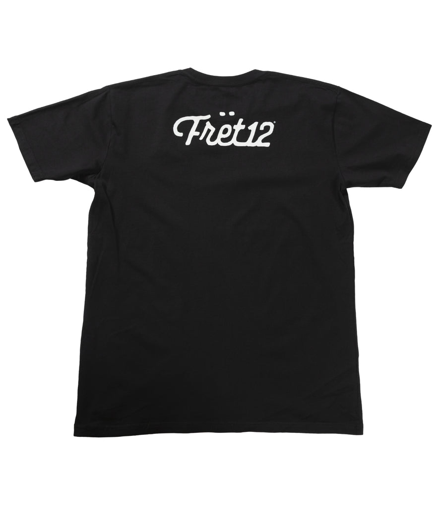 STRING THING TEE - BLACK