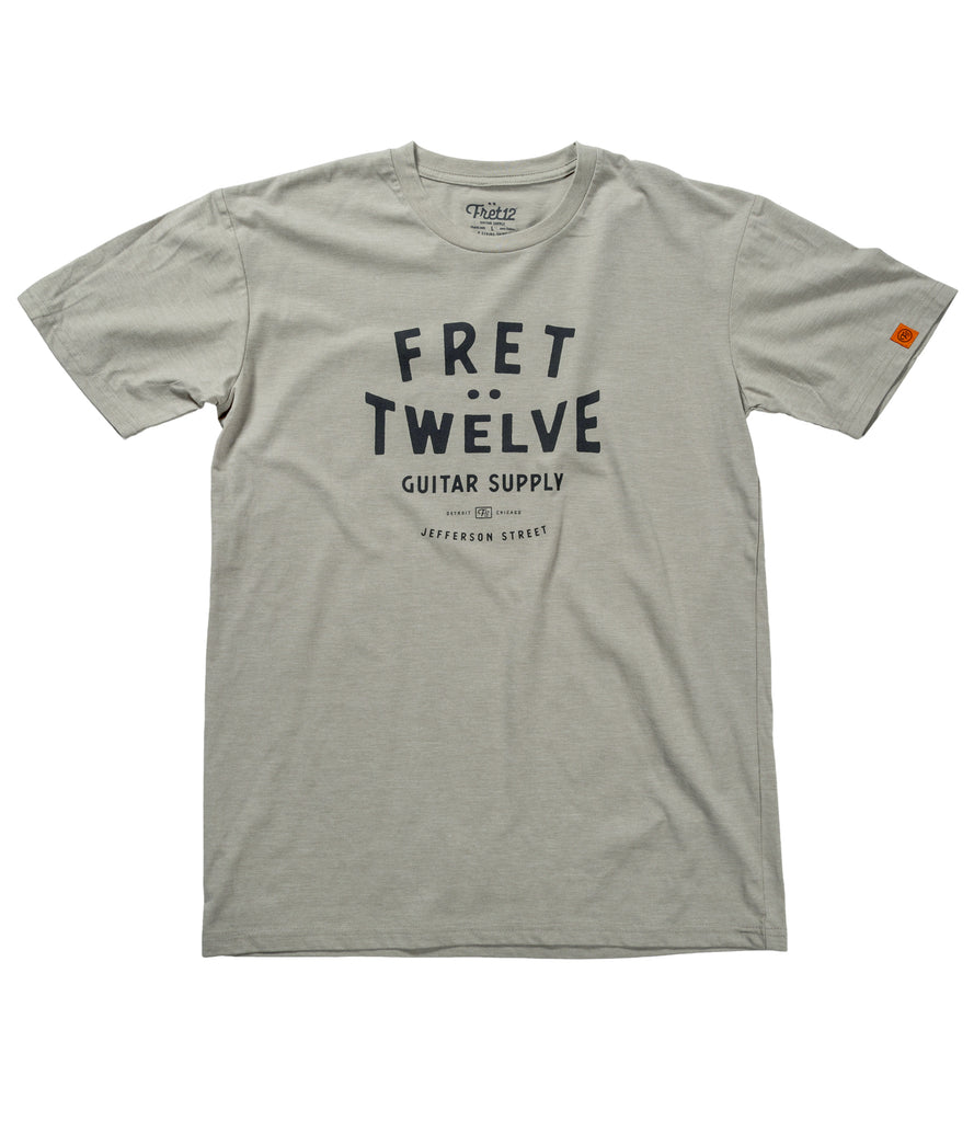 GUITAR SUPPLY TEE - LIGHT GREY