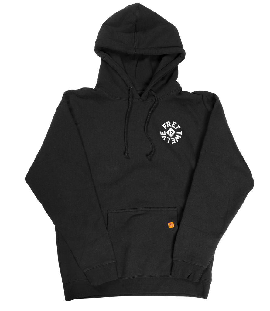GUITAR SUPPLY HOODIE - BLACK