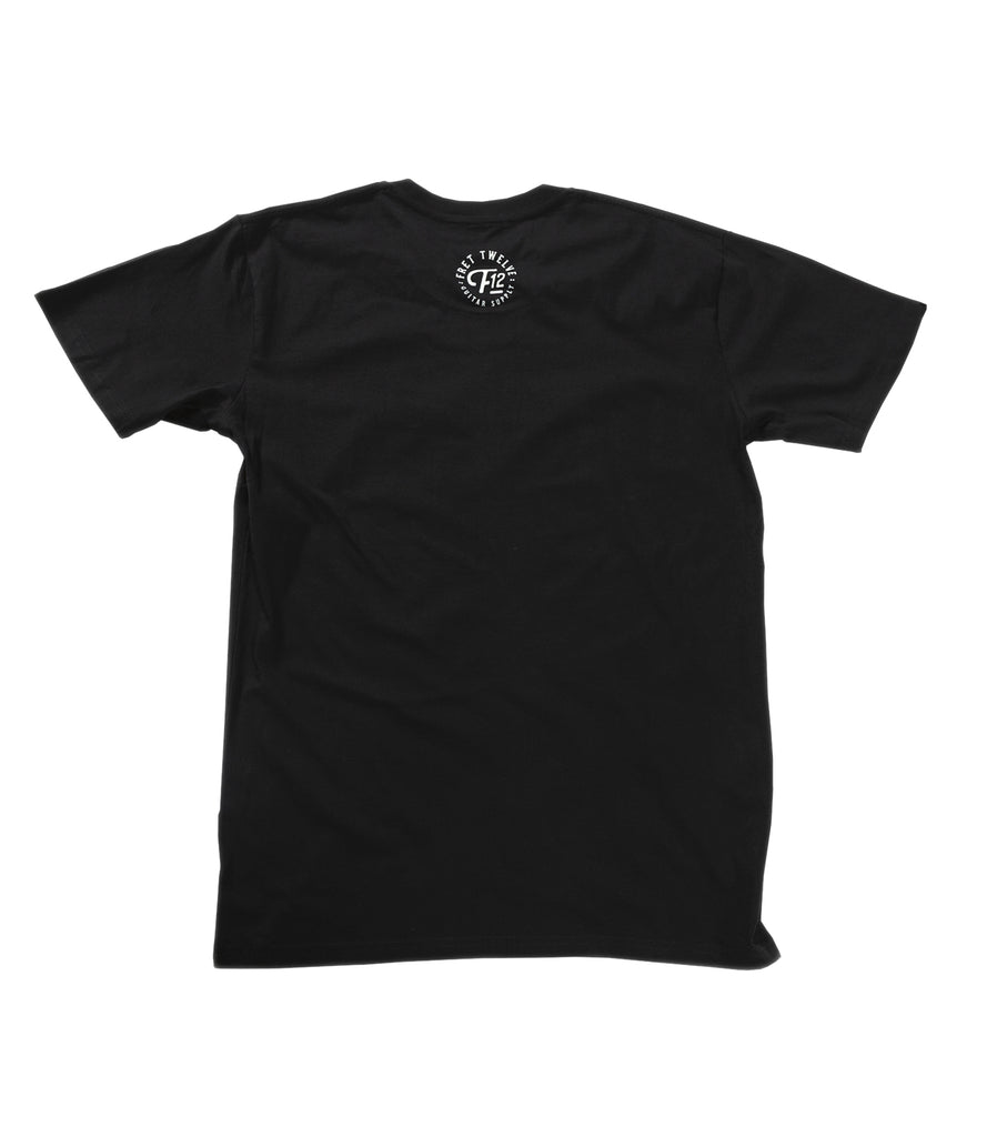 STRUNG OUT '08 REISSUE TEE - BLACK
