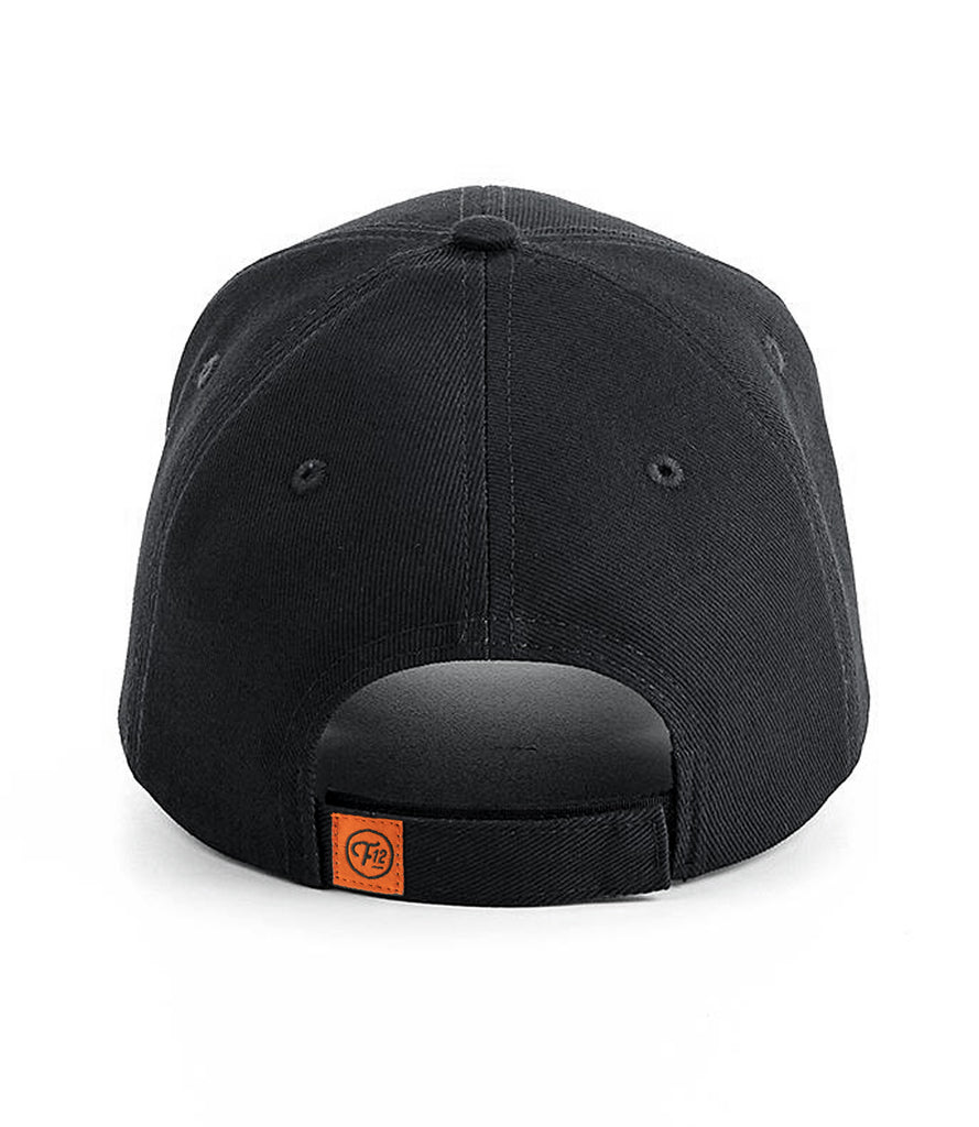FRET TWELVE ELECTRIC DETROIT BOLT 6 PANEL HAT – BLACK