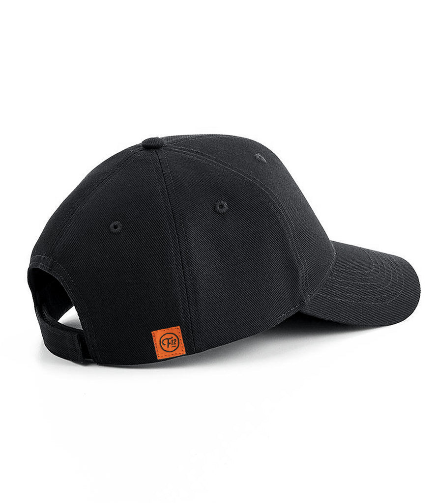 SHOP PATCH 6 PANEL HAT – BLACK