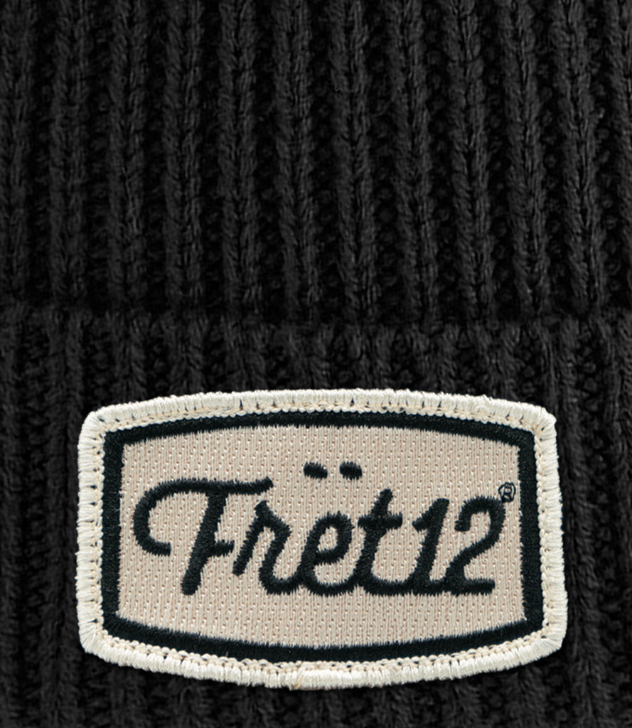 SHOP PATCH BEANIE – BLACK