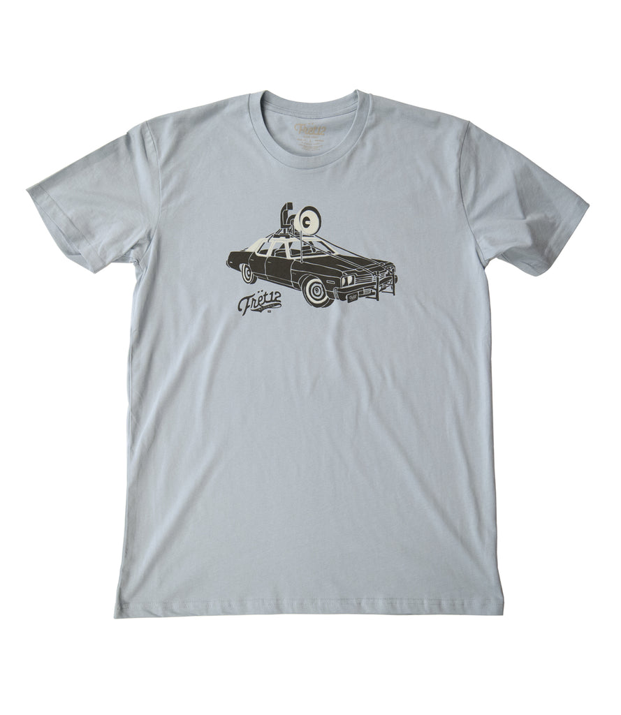 Fret12 Records Loudspeaker Car Tee