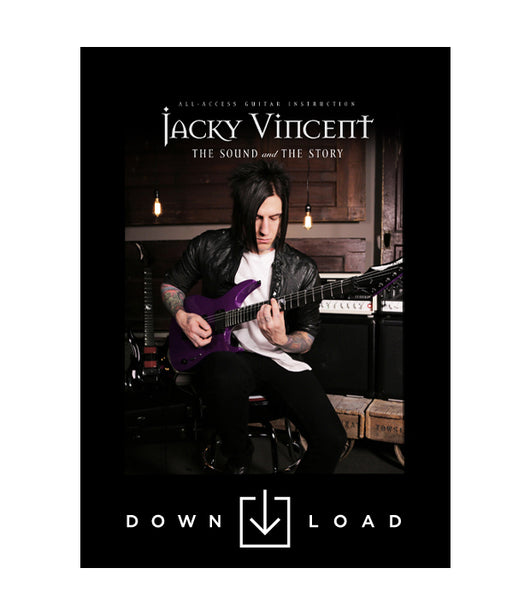 JACKY VINCENT: The Sound and The Story (DIGITAL DOWNLOAD)