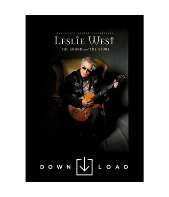 LESLIE WEST: The Sound and The Story (DIGITAL DOWNLOAD)