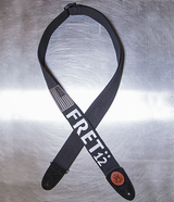 Limited Edition Fret Twelve  Monochrome Flag Guitar Strap