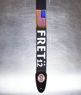Limited Edition FRET12 Old Glory Flag Guitar Strap