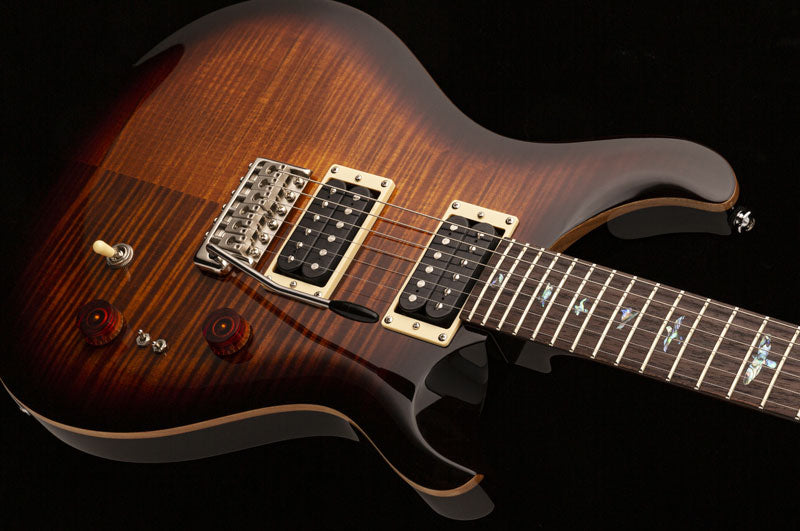 "Paul Reed Smith ""35th Anniversary SE Custom 24"" Model PRS in Black Gold Burst [Tremolo Bridge]"