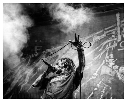 Randy Blythe of Lamb of God, Aragon Ballroom 2016