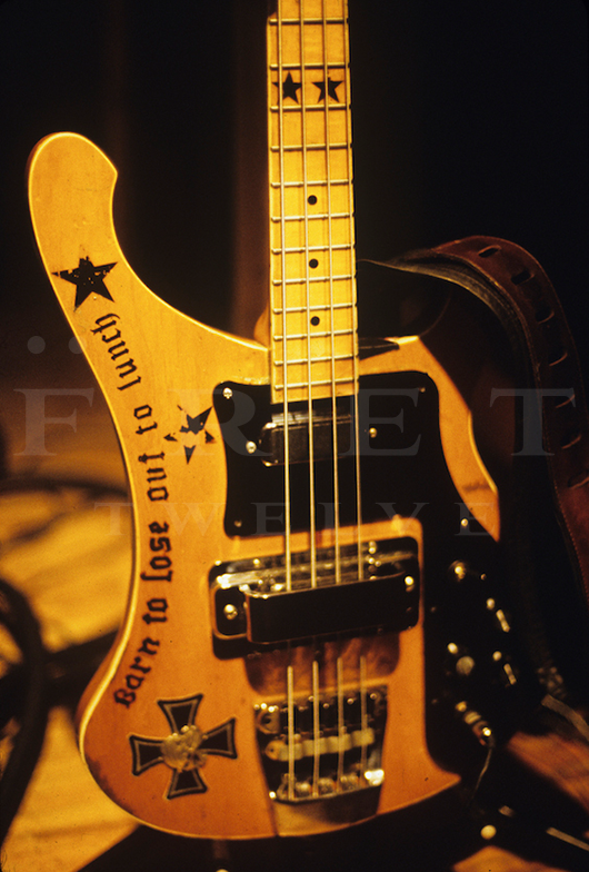 Lemmy of Motorhead's Bass, 1987