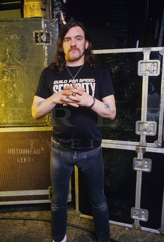 Lemmy of Motorhead, Backstage at the Vic 1987