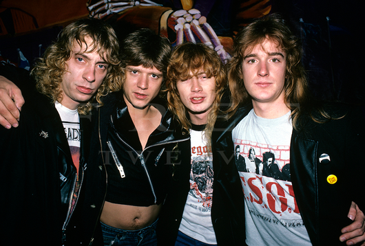 Megadeth, Milwaukee 1986