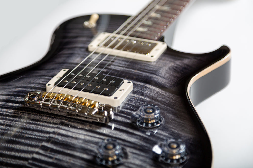 "Paul Reed Smith ""USA Mark Tremonti"" Signature Model PRS Singlecut 35th Anniversary in Charcoal Contour Burst [Adjustable Stoptail Bridge] 2020"