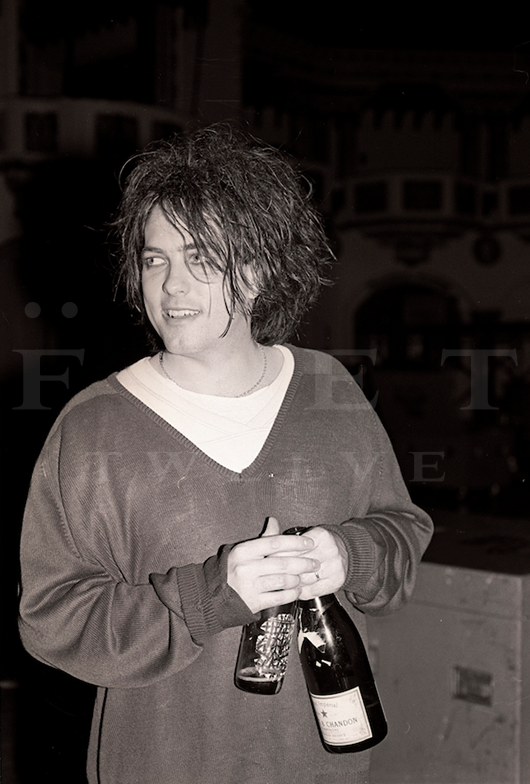 Robert Smith of The Cure, Aragon Ballroom 1985