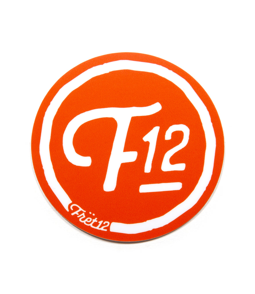 F12 LOGO – STICKER