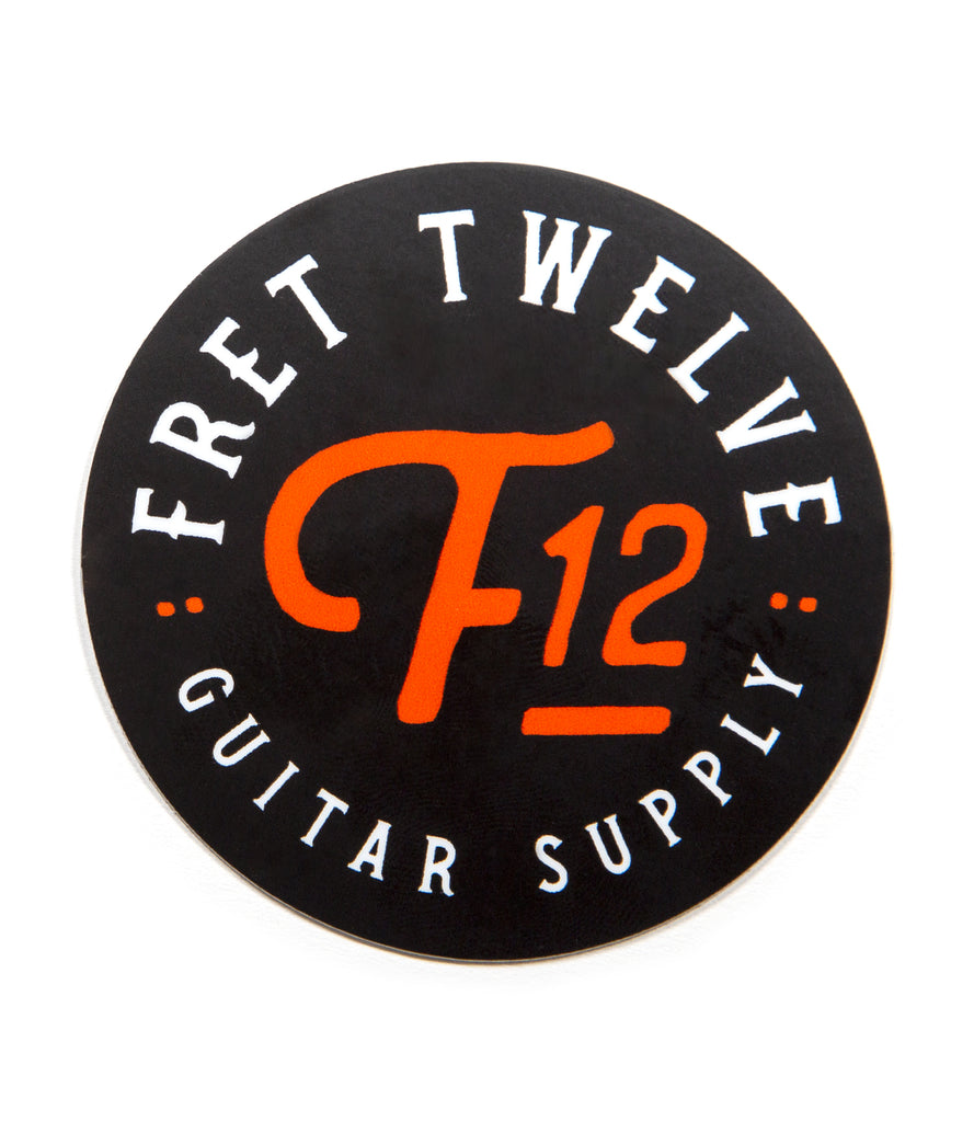 FRET TWELVE GUITAR SUPPLY – STICKER