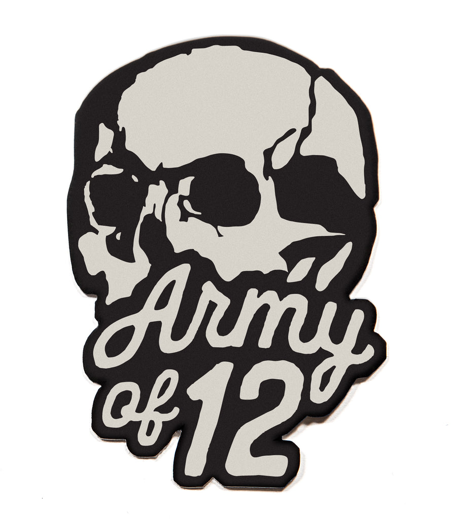 ARMY OF 12 TEE - WHITE