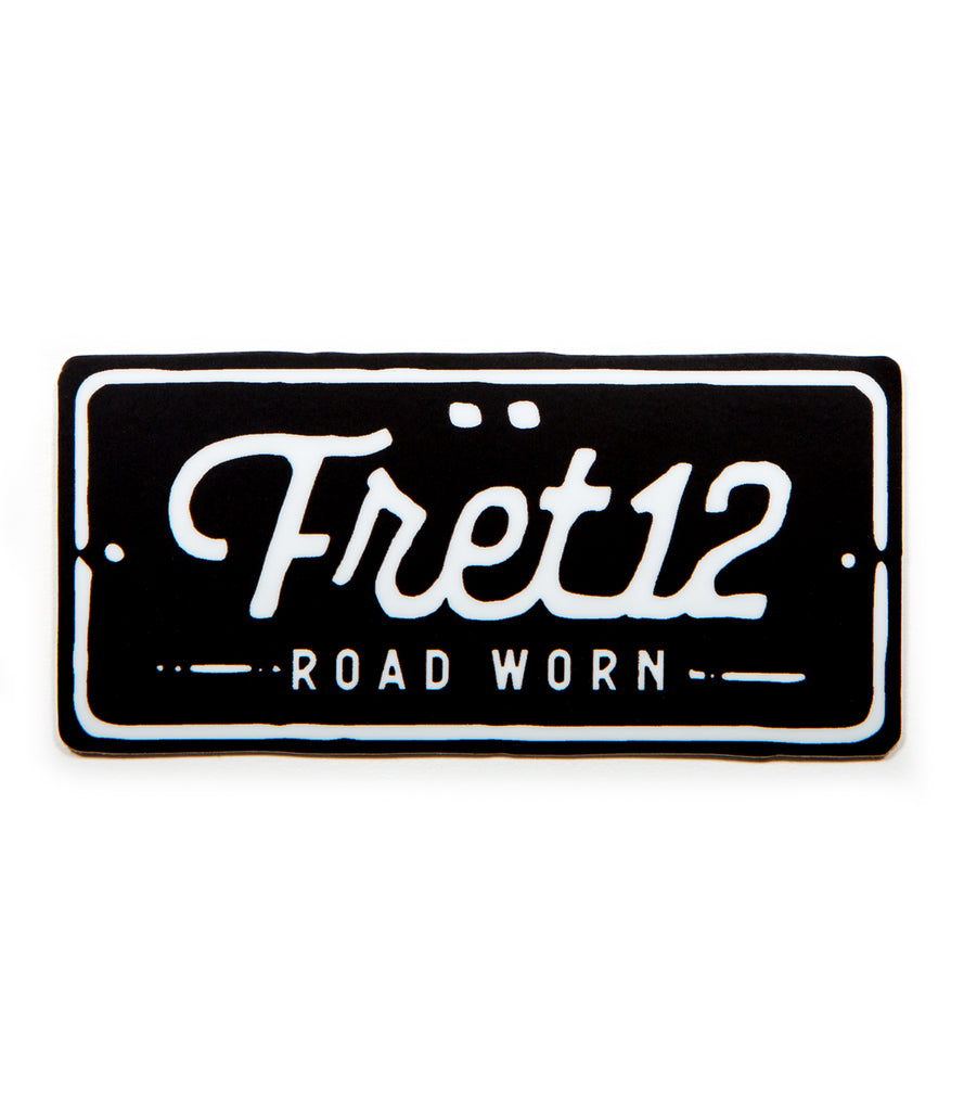 FRET12 ROAD WORN – STICKER
