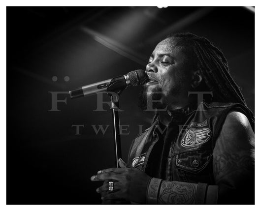 LaJon Witherspoon of Sevendust, 2016