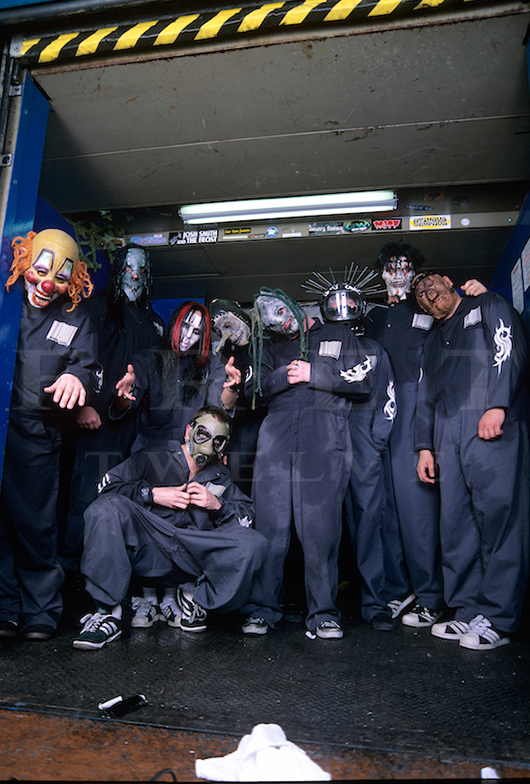 Slipknot, House of Blues 1999
