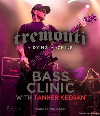 Tanner Keegan Bass Clinic - FALL EUROPEAN TOUR 2018