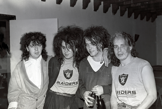 The Cure, Aragon Dressing Room 1985