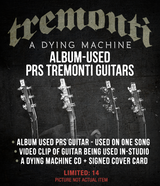 PRS Mark Tremonti Album Used #7 -  Black Cherry