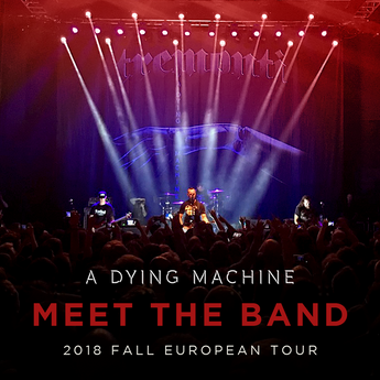 Tremonti: Meet The Band - FALL EUROPEAN TOUR 2018