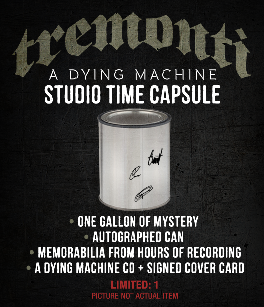 A Dying Machine Studio Time Capsule