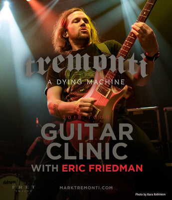 Eric Friedman Guitar Clinic - FALL EUROPEAN TOUR 2018