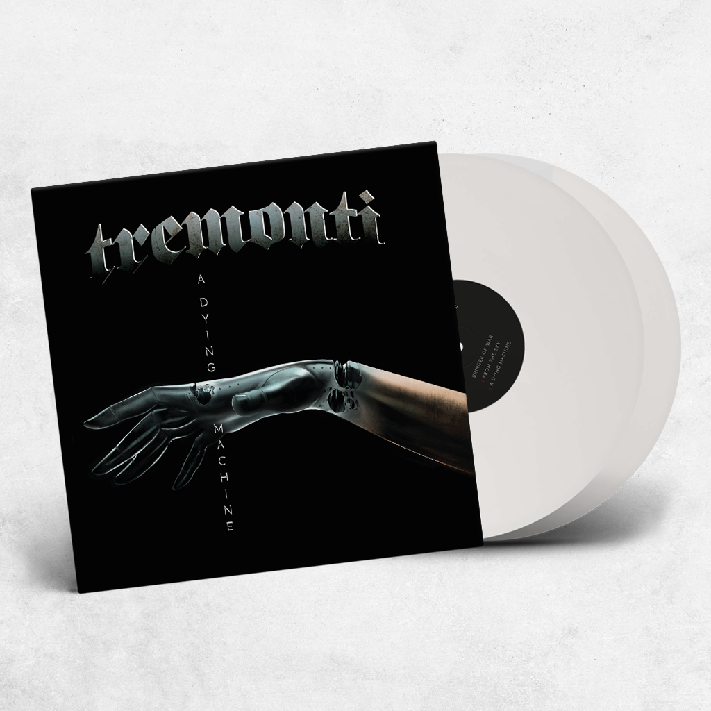 "Tremonti ""A Dying Machine"" Limited Edition White Vinyl Gatefold 2LP"