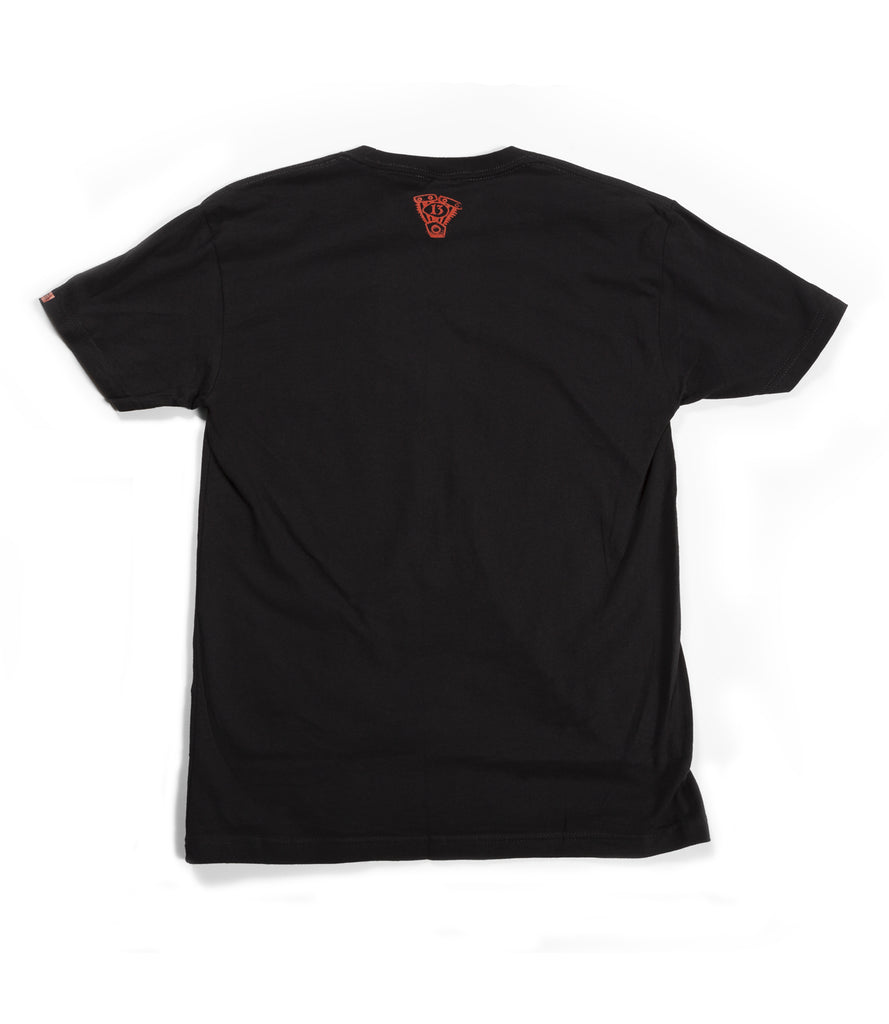 JIM ROOT (Slipknot) ROOT OF ALL EVEL TEE – BLACK