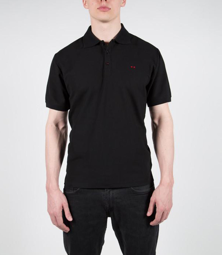 DOUBLE DOT POLO – BLACK