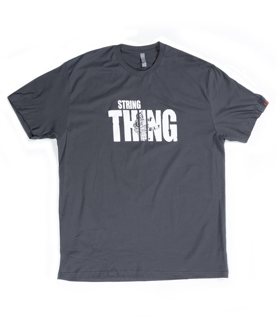 "STRING ""THE THING"" TEE – GRAY"