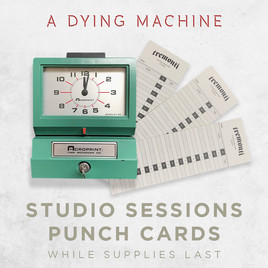 A Dying Machine Studio Punch Cards