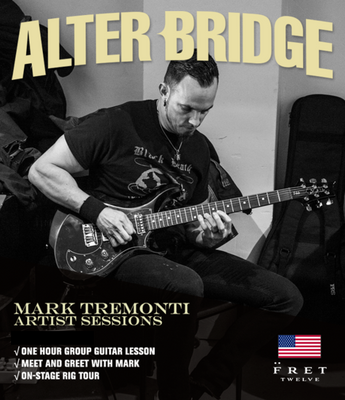Mark Tremonti: Artist Session - FALL/WINTER US TOUR 2017