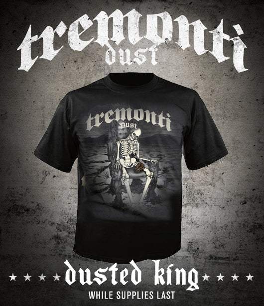 Tremonti - Dusted King (Skeleton) Tee