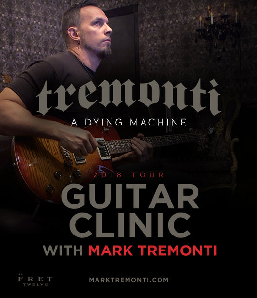 Mark Tremonti Guitar Clinic - FALL US TOUR 2018