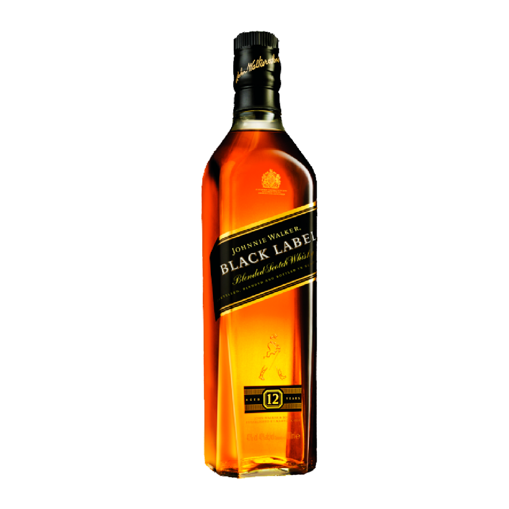 JOHNNIE WALKER - BLACK LABEL 12 YEARS 1000 ML
