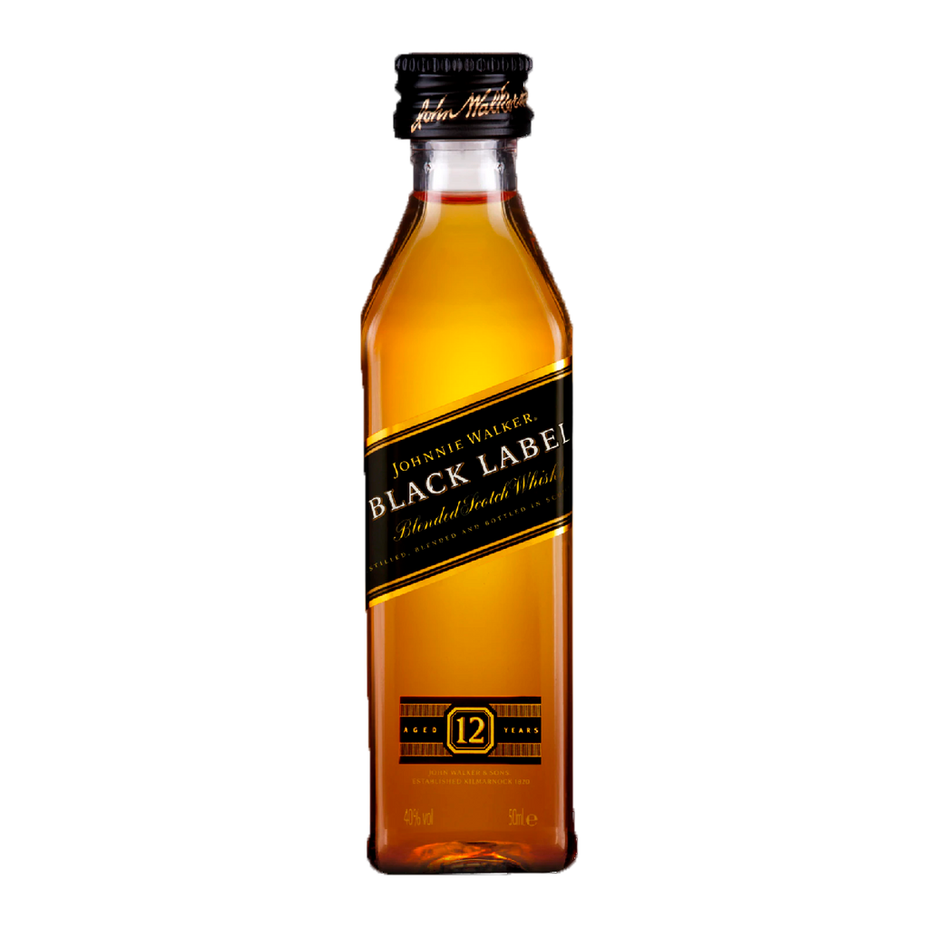 JOHNNIE WALKER - BLACK LABEL 50 ML