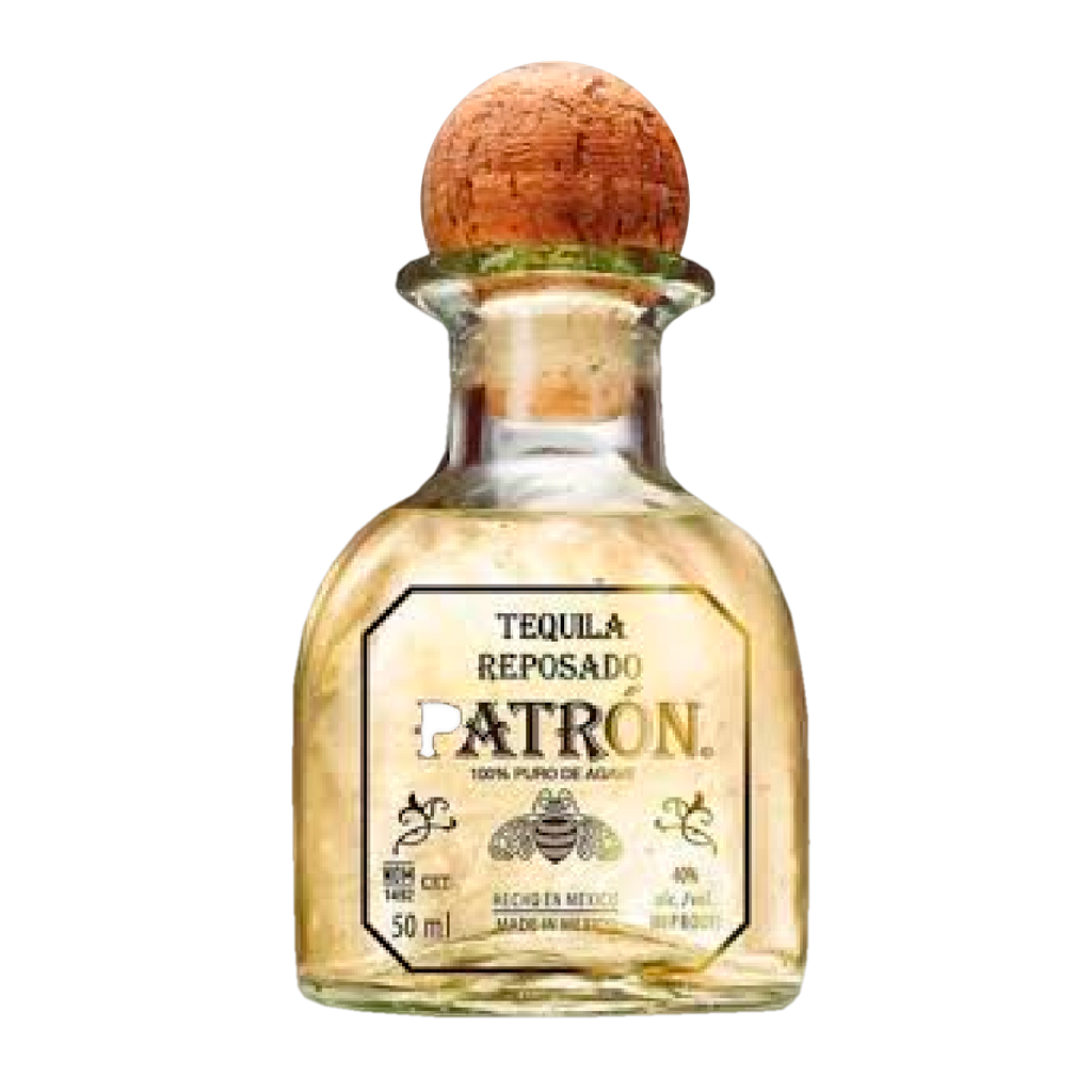 TEQUILA PATRON - REPOSADO 50 ML