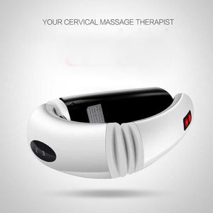 Electric Pulse Back and Neck Massager Pain Relief