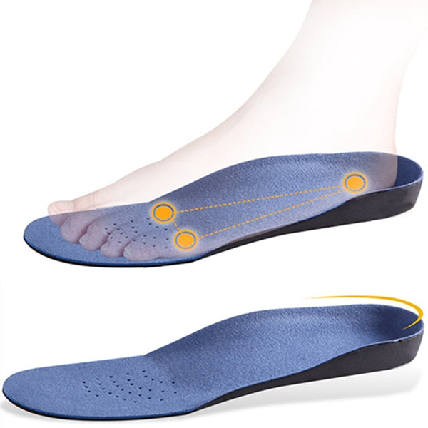 Flatfoot Orthotics Cushion Pads Care Insoles