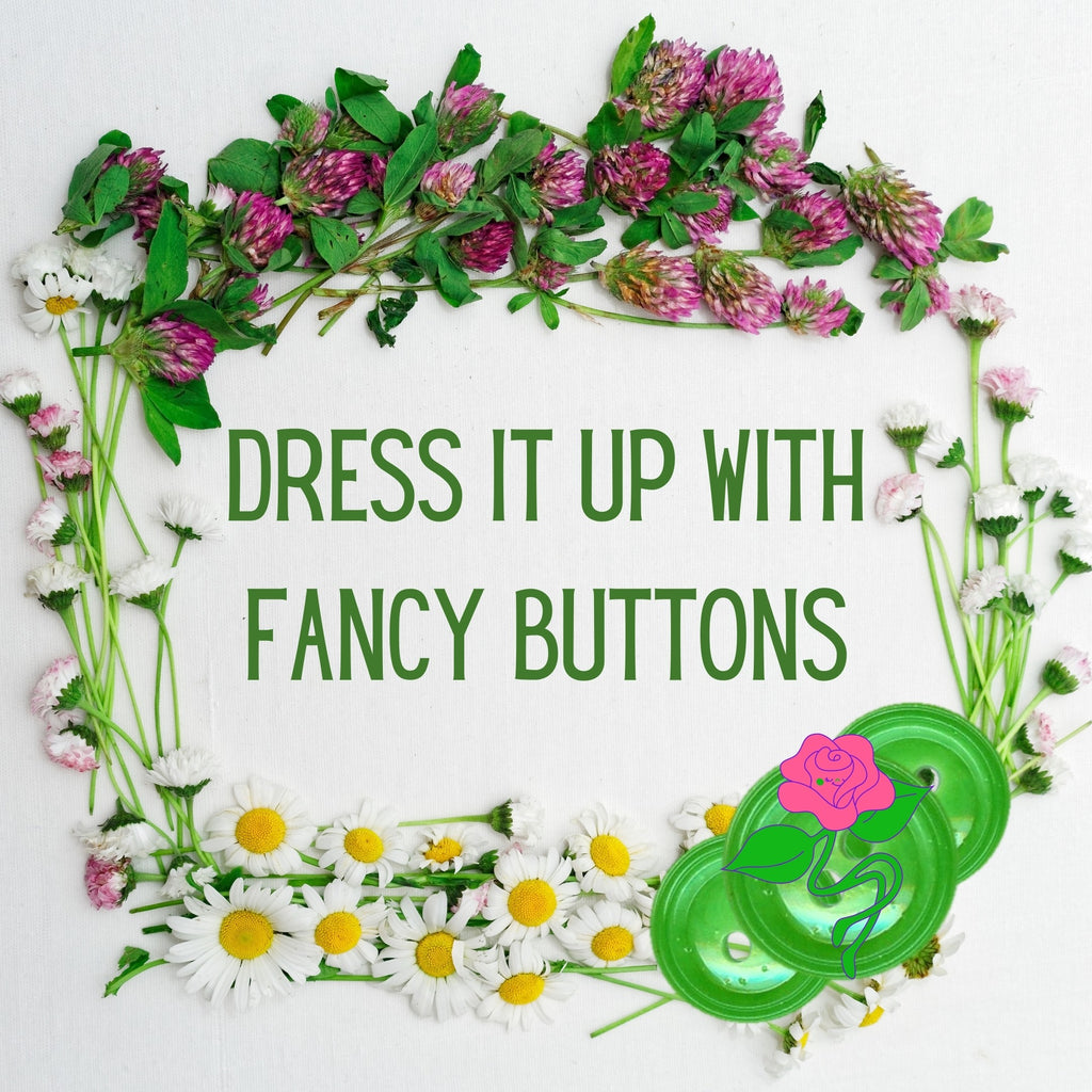 Dress It up With Fancy Buttons