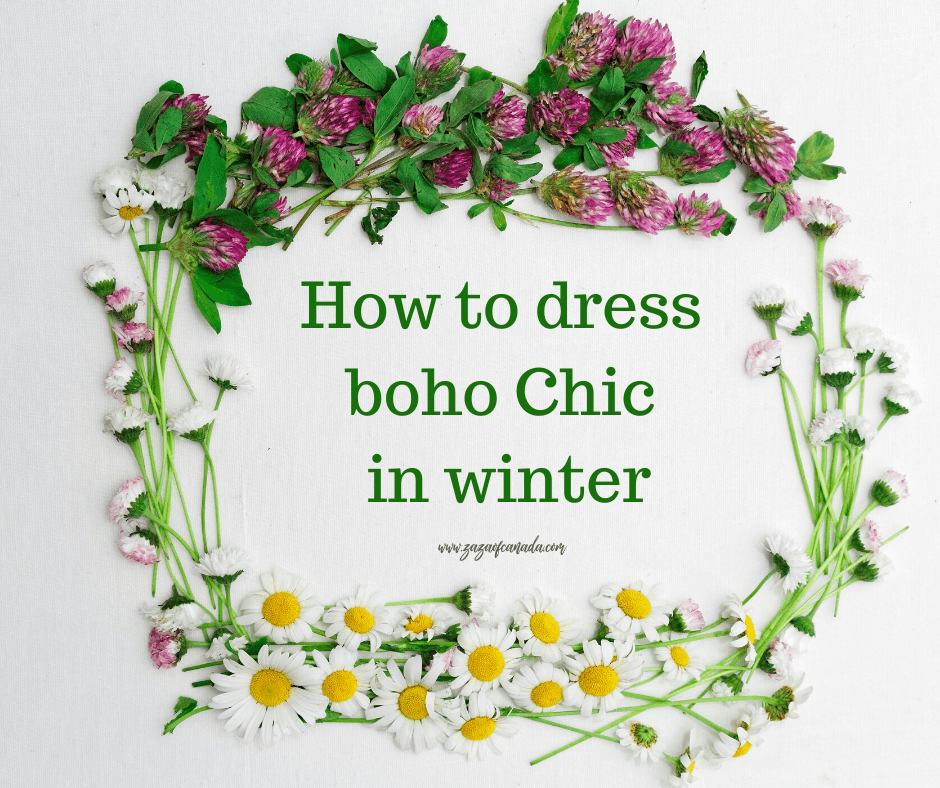 how to dress like a boho chic
