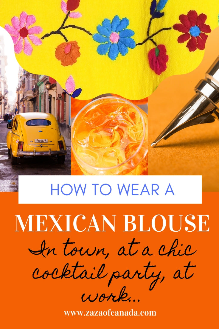 authentic mexican peasant blouses