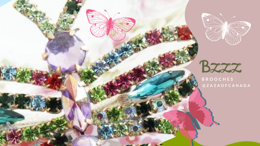 butterfly brooches jewellery