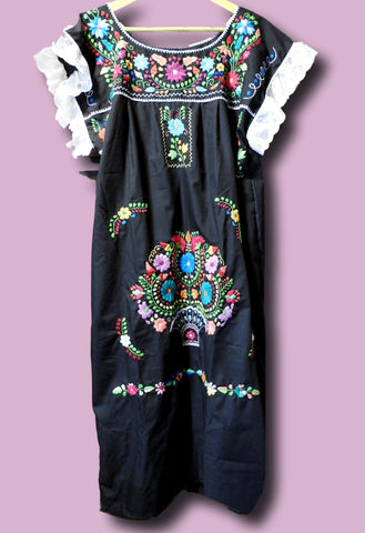 Plus size mexican style dresses