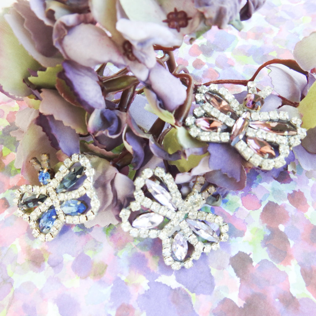 Small butterfly brooches lot - zazaofcanada